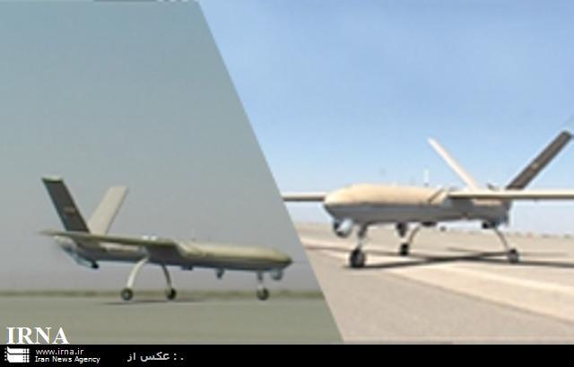 طائرة من دون طيار ايرانية تحلق لارتفاع 60 الف قدم Iranian-drawn-shahed129