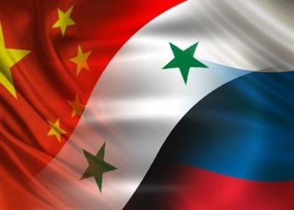Russia-China-syria