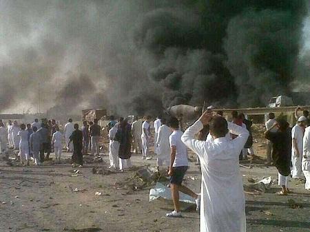 عشرات القتلى بتفجير انتحاري يستهدف قيادة الحرس الوطني بالرياض