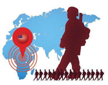 أمريكا تتمدد عسكرياً في إفريقيا