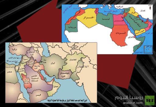 مشروع صهيونى لتفتيت الوطن العربى