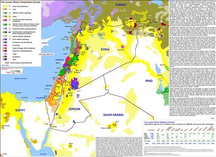 خريطة «ذا واشنطن بوست».. لشرح سوريا