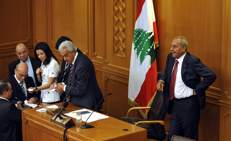 LEBANON-PARLIAMENT-SPEAKER