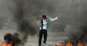اصابة عشرات الفلسطينيين في مواجهات مع قوات الاحتلال بالضفة