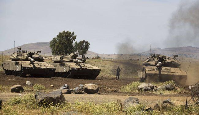 """""""اسرائيل"""" تهدد بضرب الدبابات السورية في الجولان"""