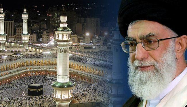 نداء قائد الثورة الاسلامية لحجاج بيت الله الحرام