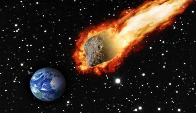 نيزك بقوة 2500 قنبلة ذرية يهدد الكرة الأرضية