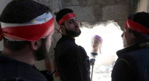 Plastic mannequin - Syria 4