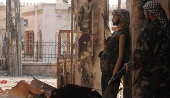 Plastic mannequin - Syria