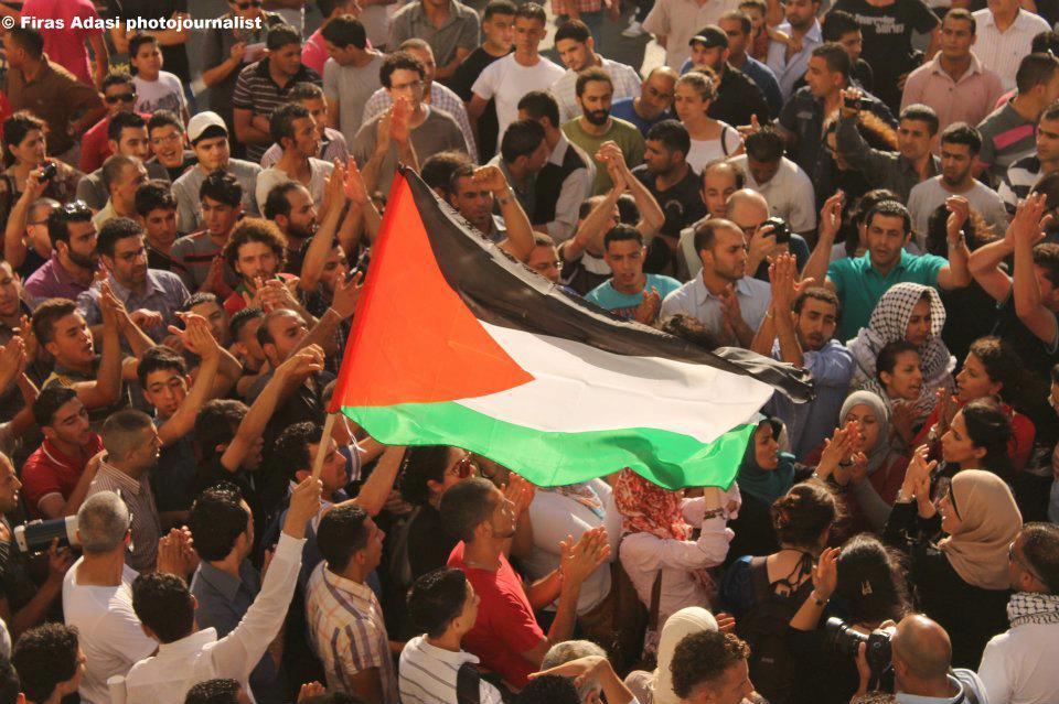ramallah-protest
