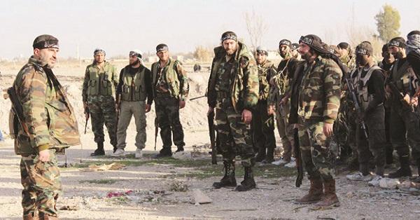 free syrian army - daesh