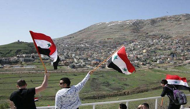 المعارضة السورية ومشروعها الجولان للاحتلال؛