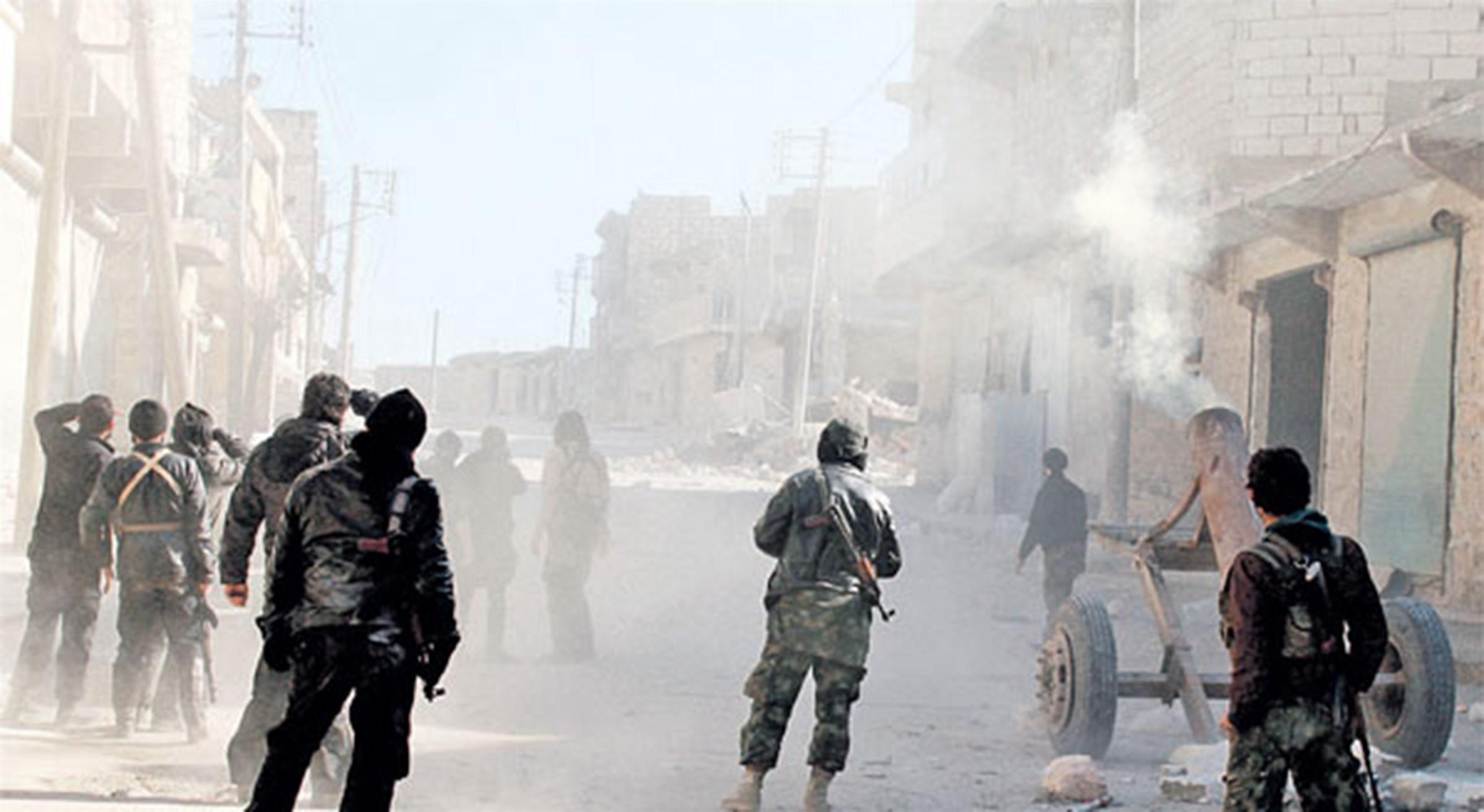 يبرود سيطرة الجيش السوري بالكامل