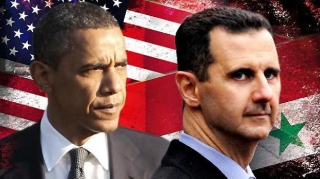 Obama-Assad-syria - usa