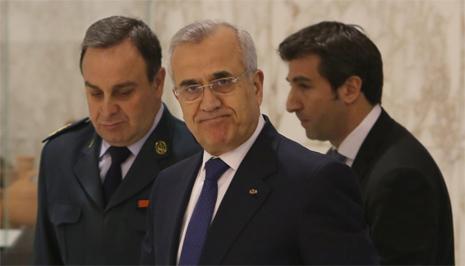 soulaiman - misheal - president of lebanone
