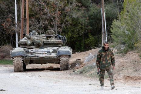 syria - army