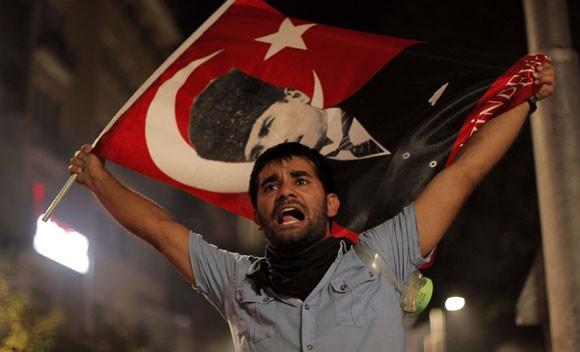 turkya - atatork flag