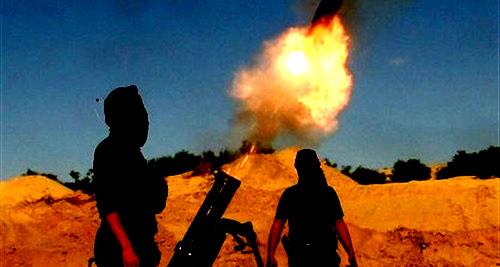 هزائم الارهابيين في سوريا يدفعهم الى استخدام السيارات المفخخة واطلاق قذائف الهاون