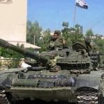 الجيش السوري يدمر مستودع صواريخ للمسلحين باللاذقية