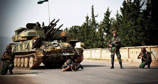 الجيش السوري يواصل التقدم جنوباً في مواجهة مجموعات إرهابية يقودها ضباط إسرائيليون
