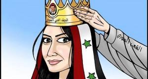 كاريكاتير: الشعب السوري يتوج الجيش العربي السوري رئيساً