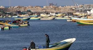 الاحتلال يعتقل خمسة صيادين قبالة سواحل غزة