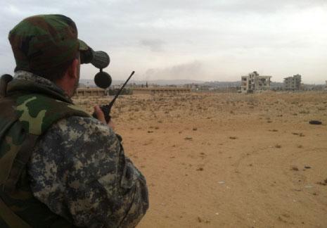 الجيش السوري يتقدم في مزارع الملاح بحلب
