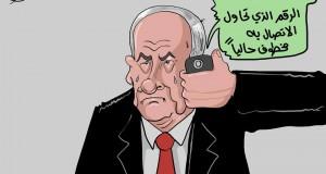 كاريكاتور خطف الجندي الاسرائيلي شاؤول آرون