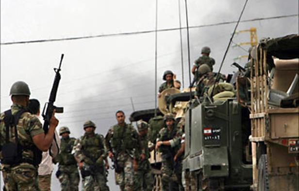 army - lebanone - 3irsal