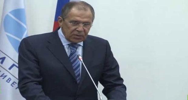 لافروف: الغرب يبرر الإرهاب في سورية رغم كل الاتفاقيات الدولية لمكافحته