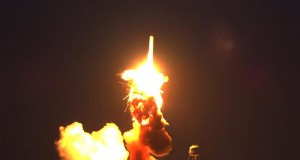 فيديو: انفجار صاروخ فضائي أميركي لدى إطلاقه