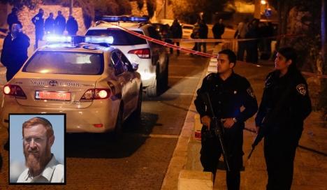 محاولة اغتيال الحاخام المتطرف يهودا غليك بالقدس واصابته حرجة