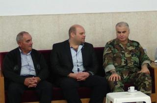 قهوجي عزا عائلتي الهبر والحكيم: لا مساومة مع قتلة العسكريين ولا اتفاقات سرية على دم الشهداء