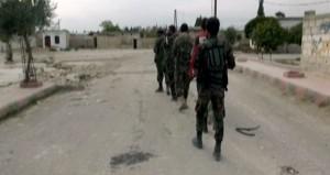 """وحدات من الجيش السوري تخوض معارك عنيفة ضد إرهابيي """"داعش"""" في محيط جبل الشاعر وتقضي على المئات منهم"""