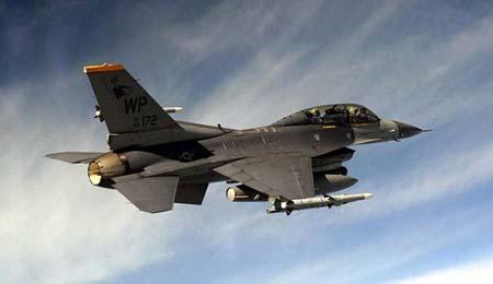 فقدان مقاتلة امريكية وطيارها شمال Ø