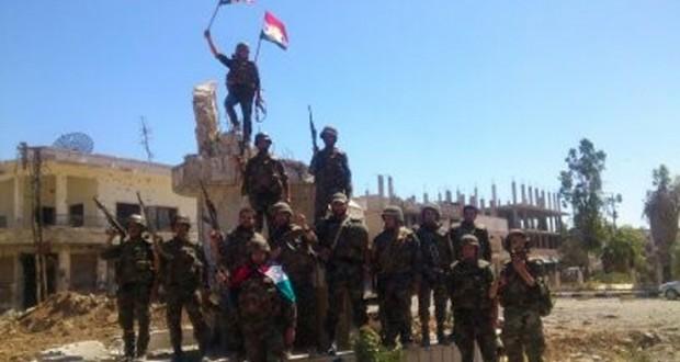 """الجيش السوري يتقدم في ريف درعا ويستعيد 33 قرية من """"داعش"""" في ريف الحسكة"""