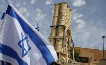 نظام الدفاع الإسرائيلي اختبار لاعتراض