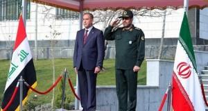 ايران والعراق يؤكدان تطوير التعاون العسكري بينهما