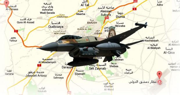 """من رسائل وأسرار الغارة الصهيونية التي استهدفت منشآت حول مطار دمشق ومنطقة """"الديماس"""""""