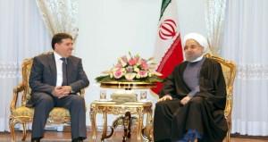 رسالة من الرئيس الأسد للرئيس روحاني تتعلق بتطوير العلاقات والإرادة المشتركة في مواجهة المخططات