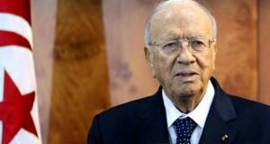 الرئيس التونسي يدعو إلى التحرك الحازم إقليميا ودوليا ضد الإرهاب
