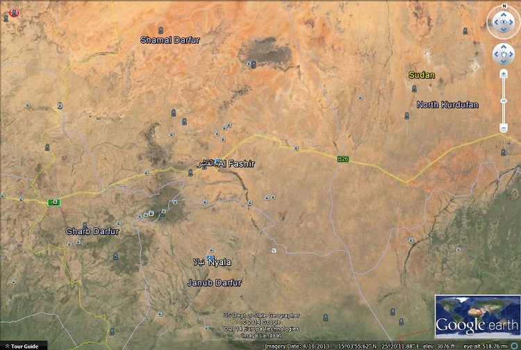 sudan-darfur-map