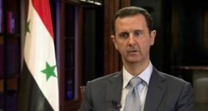 الأسد لروسيا اليوم: التواجد الروسي بشرق المتوسط ضروري لخلق توازن ودمشق ترحب بأي توسع روسي في المنطقة ولاسيما الشواطئ السورية
