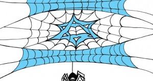 كاريكاتير عصام حنفي: أوهن من بيت العنكبوت