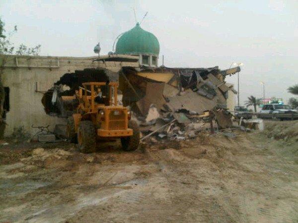 مرصد البحرين لحقوق الإنسان يجدد مطالبته باعادة بناء ٣٨ مسجداً تعرض للهدم