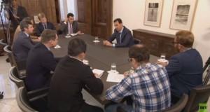 الأسد لـRT : التواجد الروسي في شرق المتوسط ضروري للتوازن الذي فقده العالم