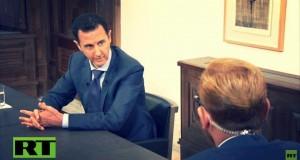 الأسد لـRT: وقعنا عقودا للأسلحة خلال الأزمة والتواجد الروسي في شرق المتوسط ضروري للتوازن