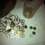 بالصور… في إسرائيل: 1000 قطعة نقدية مزورة كل 3 ساعات