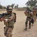 القوات العراقية  تصل تخوم حمرين