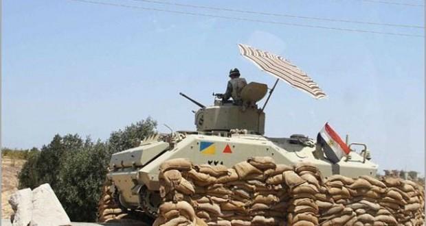 """الجيش المصري يقتل 10من مسلحي""""أنصار بيت المقدس"""" بسيناء"""